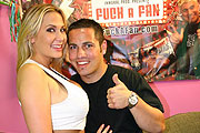 Porn Star Alanah Rae with Her Fan Ely