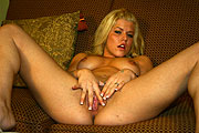Porn Star Charlie Lynn Spread Eagle